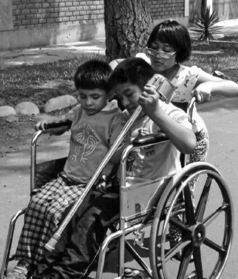 Sharing a Wheelchair
